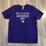 relay for life black fundraising shirt